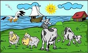 Kuh Kühe am See FB