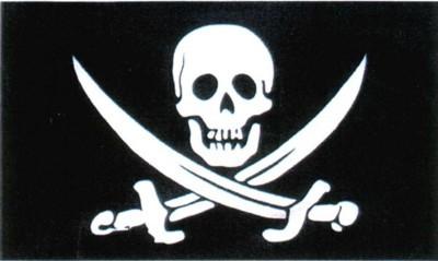 Pirat mit zwei Säbeln FB