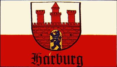 Stadtflagge Harburg (Stadtteil von Hamburg) FB