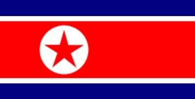 Nordkorea ca. 100 cm x 150 cm