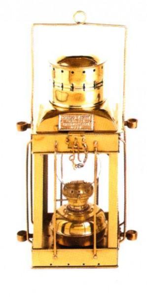 Frachtraumlaterne, H = ca. 40 cm