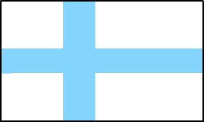 Finnland ca. 100 cm x 150 cm
