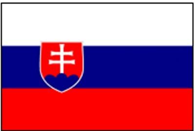 Slowakei Gastlandflagge