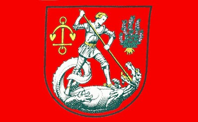 Stadtflagge Heide