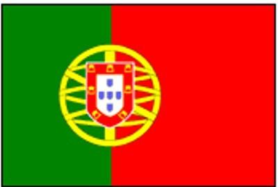 Portugal Gastlandflagge