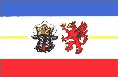 Mecklenburg - Vorpommern Gastlandflagge