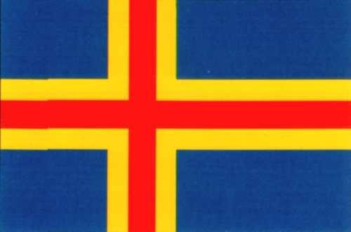 Aland Inseln Gastlandflagge