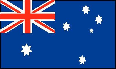Australien (Größe ca. 60 cm x 90 cm)