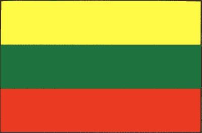 Litauen Gastlandflagge