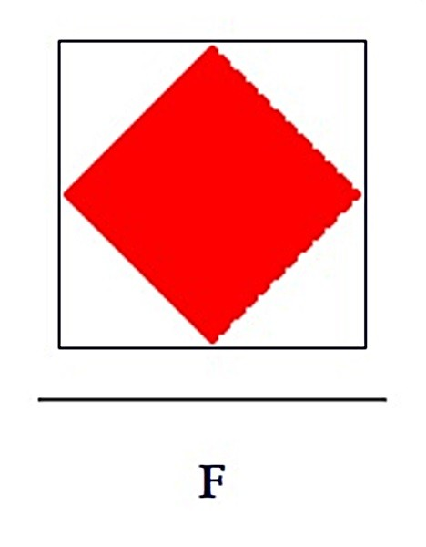 Signalflagge F