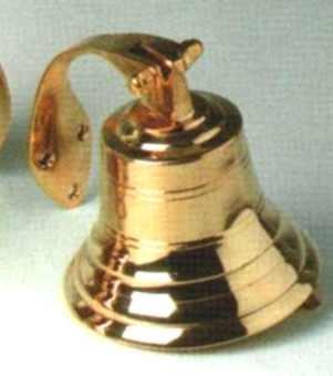 Glocke gegossen, d = ca. 17,5 cm