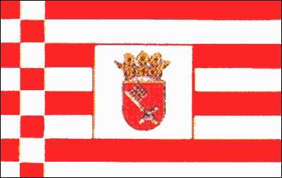 Stadtflagge Bremen (Größe ca. 60 cm x 90 cm)