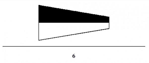 Signalflagge Ziffer 6