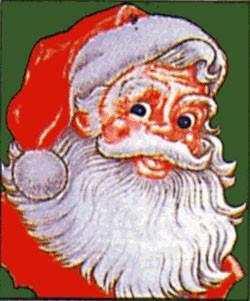 Weihnachten 6: Weihnachtsmann (Hochformat)