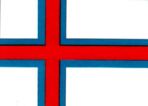 Faröer Gastlandflagge