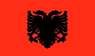 Albanien Gastlandflagge