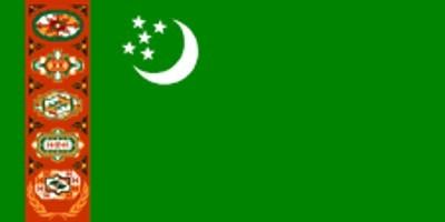 Turkmenistan ca. 100 cm x 150 cm