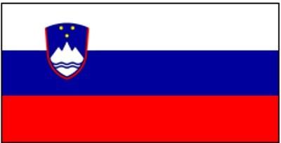 Slowenien Gastlandflagge