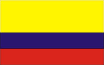 Kolumbien N ca. 100 cm x 150 cm