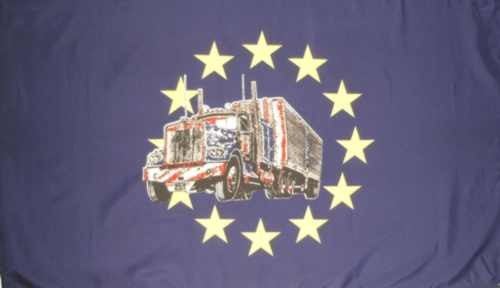 Europa - Sternenkreis + LKW