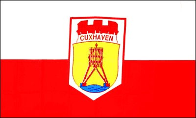Stadtflagge Cuxhaven