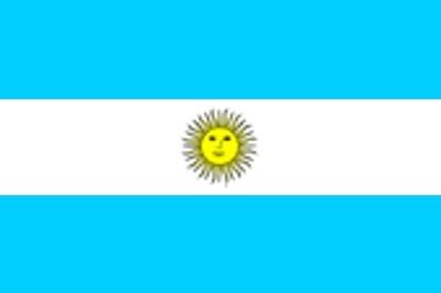 Argentinien mit Sonne