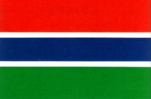 Gambia ca. 100 cm x 150 cm
