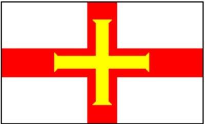 Guernsey (GB) Gastlandflagge