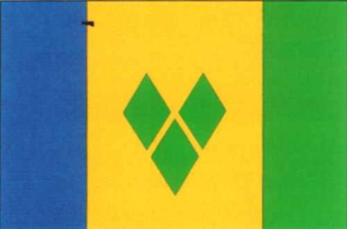 St. Vincent & Grenadines ca. 100 cm x 150 cm