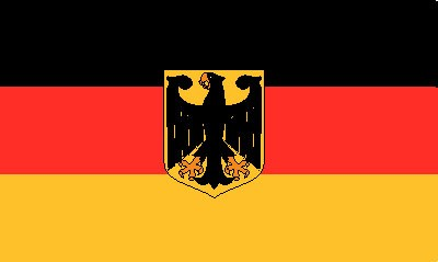 Deutschland mit Adler (Bundesdienstflagge) FB