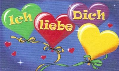 """Valentinstag: """"Ich Liebe Dich"""""""