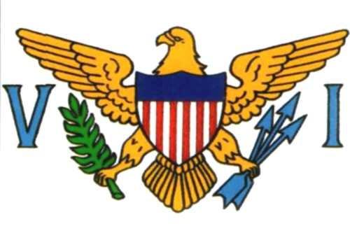 Amerikanische Jungferninseln Gastlandflagge