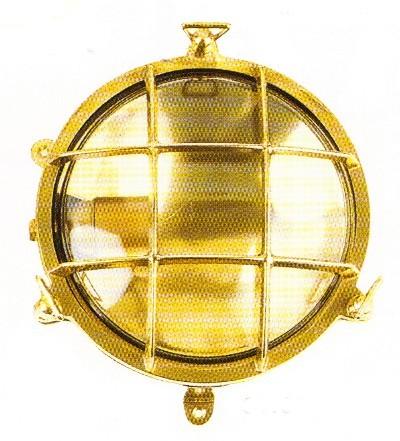 Schildkrötlampe rund