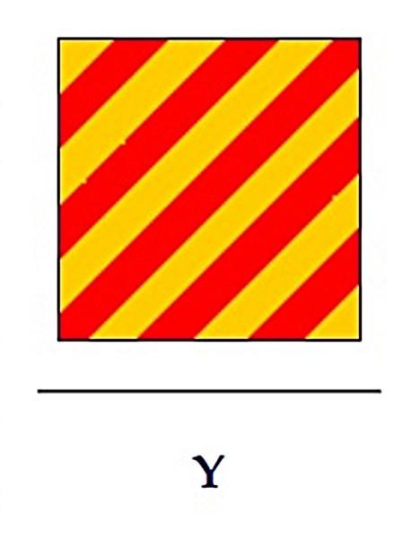 Signalflagge Y