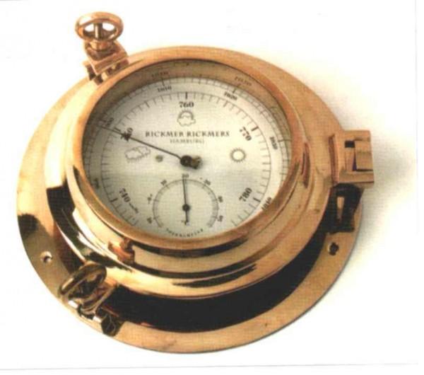 Barometer, d = ca. 14 cm
