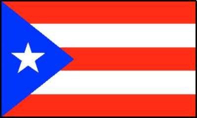 Puerto Rico Gastlandflagge