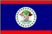 Belize ca. 100 cm x 150 cm