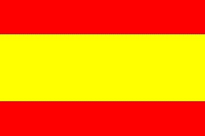 Spanien Gastlandflagge