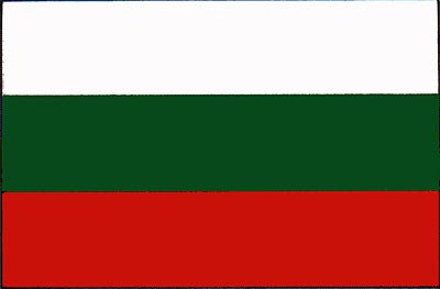 Bulgarien Gastlandflagge