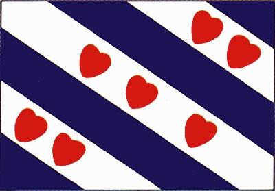 Friesland (niederländische Provinz) Gastlandflagge
