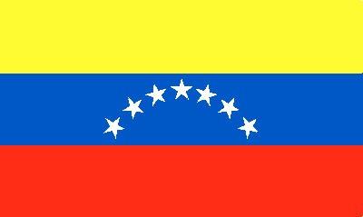 Venezuela Gastlandflagge