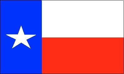 Texas (Größe ca. 60 cm x 90 cm)