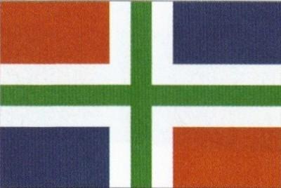 Groningen (niederländische Provinz) Gastlandflagge