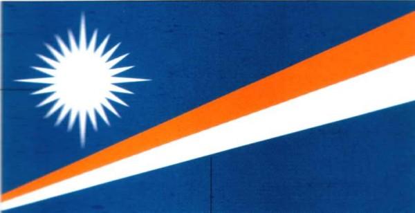 Marshall Inseln ca. 100 cm x 150 cm