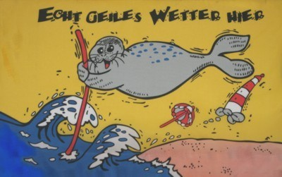 "Seehund 4 ""Echt geiles Wetter hier"""
