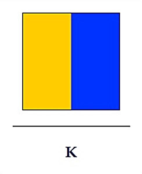 Signalflagge K