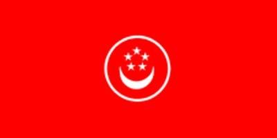 Singapur Handel ca. 100 cm x 150 cm