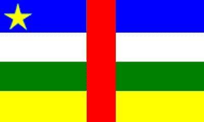Zentralafrikanische Republik ca. 100 cm x 150 cm