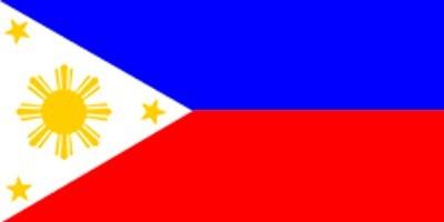Philippinen Gastlandflagge