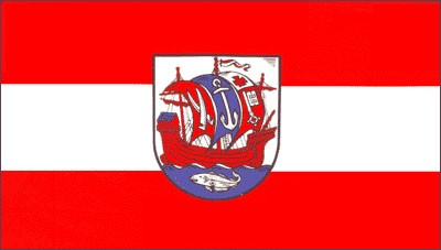 Stadtflagge Bremerhaven